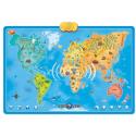 Dumel Discovery Mapa Zwierzęta Świata