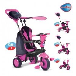 Smart Trike Rowerek 4w1 Spark Różowy