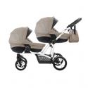 Bebetto Z42 Wózek Dla bliźniaków