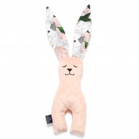 La Millou VELVET Zabawka Królik Powder Pink Lady Peony by Małgorzata Rozenek Majdan