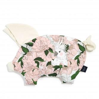 La Millou Velvet Sleepy Pig Poduszeczka Lady Peony Rafaello by Małgorzata Rozenek Majdan