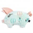 La Millou VELVET Sleepy Pig Poduszeczka Miss Cloudy Powder Pink