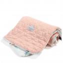 La Millou Velvet Kocyk Średniaka Miss Cloudy Powder Pink