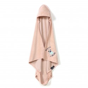 """La Millou Bambusowy Ręcznik Newborn """"S"""" Doggy Unicorn Powder Pink"""