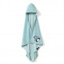 "La Millou Bambusowy Ręcznik Newborn ""S"" ILovePanda Mint by Marta Żmuda Trzebiatowska"