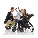 Bumprider Dostawka do Wózka dla Starszego Dziecka Czarno Niebieska