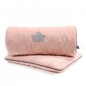 La Millou VELVET Pościel z Wypełnieniem 80x100 cm Powder Pink