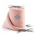 La Millou VELVET Ochraniacz do Łóżeczka 70x140 Powder Pink
