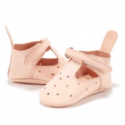 "La Millou Skórzane Buciki Light Moonie's ""S"" Candy Pink"