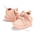 "La Millou Skórzane Buciki Cloudy Moonie's ""S"" Candy Pink"
