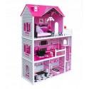 Wooden Toys Drewniany Domek dla Lalek Róża