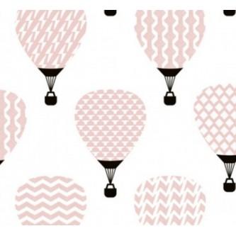 Kalamati Bambusowy Otulacz 120x100 Pink Balloons