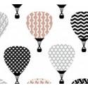 Kalamati Bambusowy Otulacz 120x100 Retro Balloons