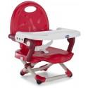 Chicco Przenośne Krzesełko do Karmienia Pocket Snack Czerwone