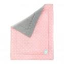 Lamps & Company Ocieplany Kocyk 80x100 Lovely Dots Pink