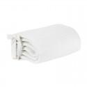 Effiki Ochraniacz 30x180 w Kropki Biały Małgosia Socha