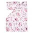 """Qbana Mama Pościel Bambusowa z Wypełnieniem """"M"""" 75x100 In Blossom"""