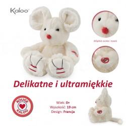 Kaloo Myszka 19 cm Kość Słoniowa