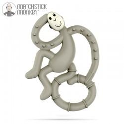 Matchstick Monkey Mini Gryzak Masujący Grey