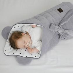 Sleepee Rożek Niemowlęcy Royal Baby Denim