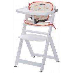 Safety 1st Timba Krzesełko do Karmienia + Wkładka Red Line White