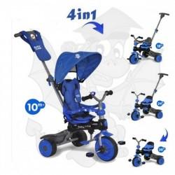 Baby Trike 4w1 Rowerek Blue