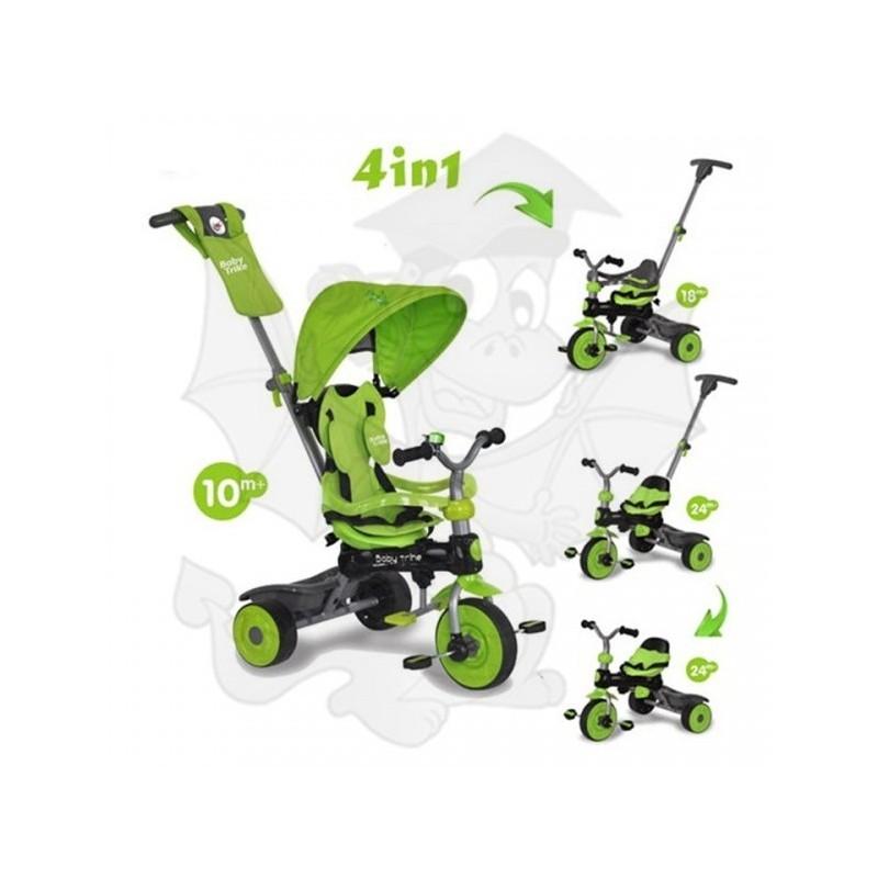 Baby Trike Rowerek 4w1 Green