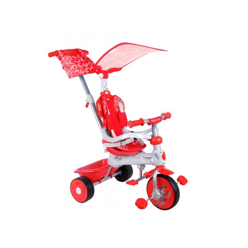 Baby Trike New Rowerek 4w1 Czerwony