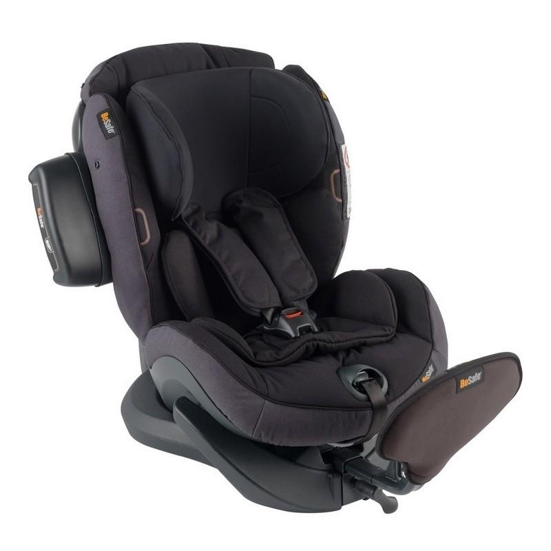 BeSafe iZi Plus X1 (SIP+) Fotelik 0-25 kg RWF Czarny Melange 01