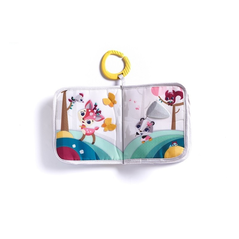 Tiny Love Książeczka Edukacyjna dla Dziecka Świat Małej Księżniczki (3m+)
