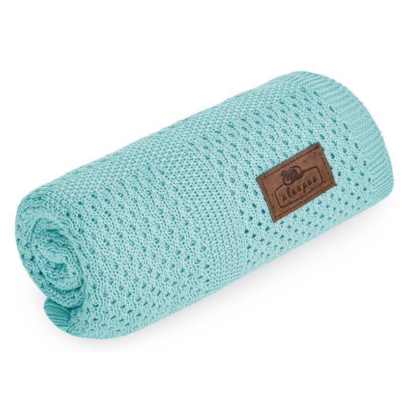 Sleepee Bambusowy Kocyk Ultra Soft Perfect Sage