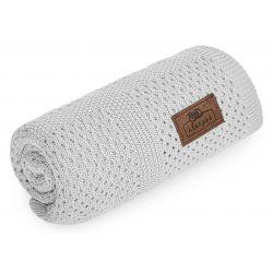 Sleepee Bambusowy Kocyk Ultra Soft Smoky Grey