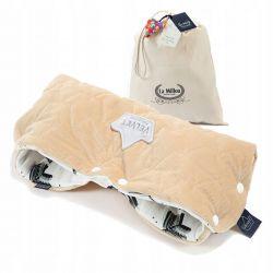La Millou VELVET PREMIUM Mufka Boho Royal Vanilla
