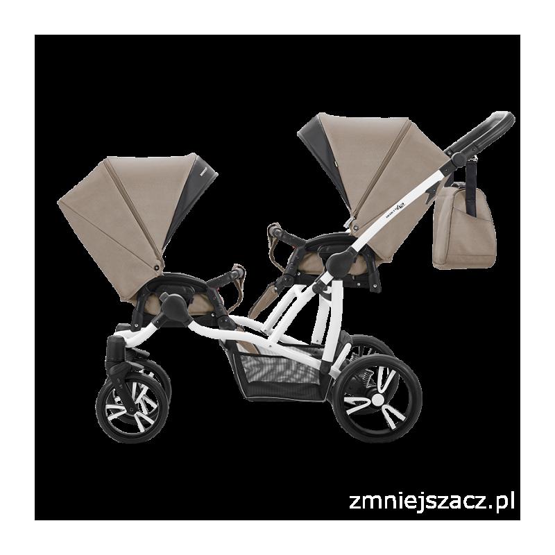Bebetto Z42 Wózek Spacerowy Rama Biała