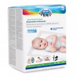 Canpol babies wielofunkcyjne podkłady higieniczne 10szt