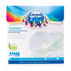 Canpol Babies Wkładki Laktacyjne (40 sztuk) Aloes EasyStart