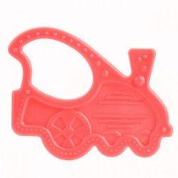 Canpol Babies Gryzak Elastyczny dla Niemowląt Czerwony
