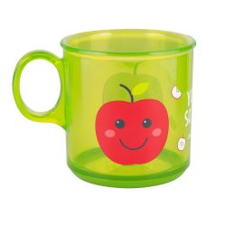 Canpol Babies Kubek Antypoślizgowy Klasyczny 170 ml Jabłko