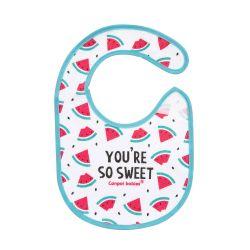 Canpol Babies Śliniak Nieprzemakalny z Frotte So Cool Różowy