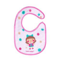 Canpol Babies Śliniak Nieprzemakalny z Frotte Toys Różowy