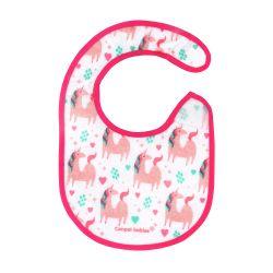 Canpol Babies Śliniak Nieprzemakalny z Frotte Różowy