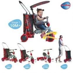 Smart Trike & Go Touch Steering 5-in-1