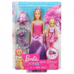 Barbie Dream Topia Przyjęcie Herbaciane Zestaw Barbie i Chelsea