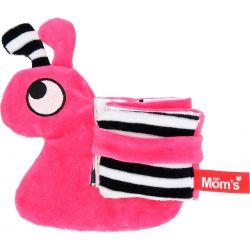 Mom's Care (Hencz) Książeczka Ślimak Różowa