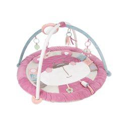 Canpol Babies Edukacyjna Mata do Zabawy Pastel Friends Różowa