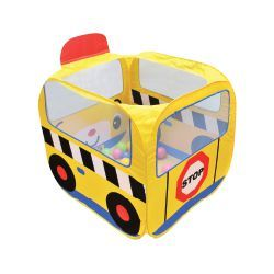 K's Kids Basenik z Piłeczkami Szkolny Autobus (20 piłek)