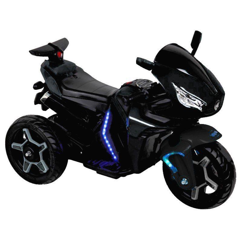 Baby Mix Motocykl na Akumulator 12V Czarny