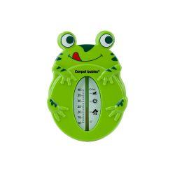 Canpol Babies Termometr do Kąpieli dla Niemowląt Żabka Zielony