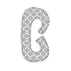 SuperMami Poduszka Ciążowa Typu C Maroko Szare