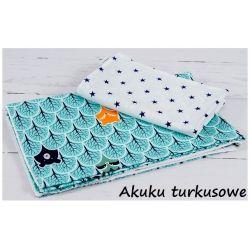 Infantilo Pościel 2-elementowa 120x90 Akuku Turkusowy